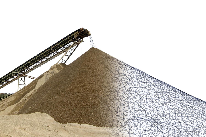 3D model of stockpile